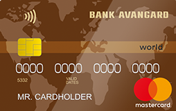 Карта «Mastercard World Cash Back»