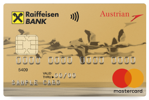 "Карта ""Austrian Airlines-MasterCard World"""