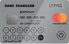 MasterCard Visa Platinum с дисплеем