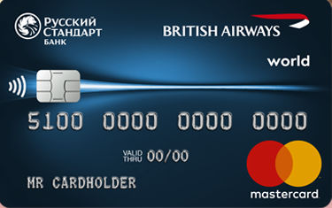 "Карта ""British Airways World Masterсard"""