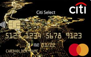Карта «Citi Select»