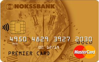 "Карта ""MasterCard Gold"""