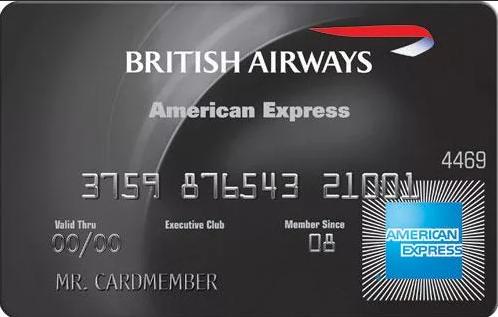 "Карта ""British Airways American Express Premium Card"""