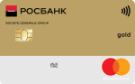 """Карта """"Дебетовая Gold"""""""