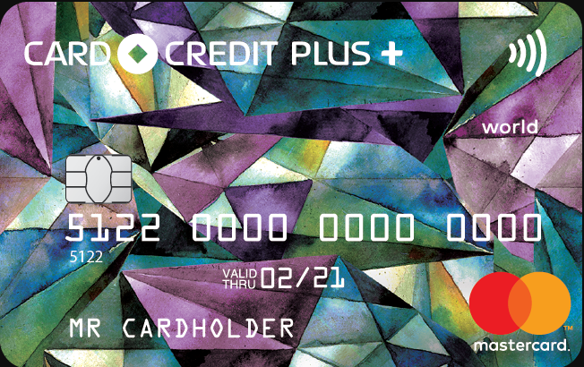 "Карта ""CARD CREDIT PLUS+"""