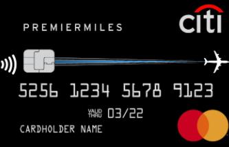 """Карта """"Citi PremierMiles"""""""