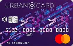 Карта с овердрафтом URBAN CARD