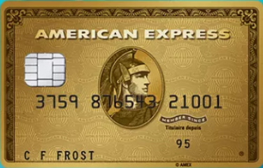 "Карта ""American Express Gold Card"""
