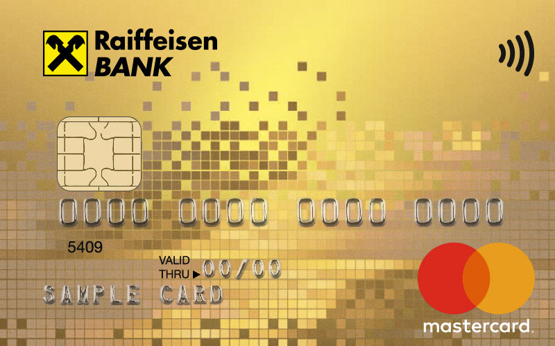 "Карта ""MasterCard Gold Package"""