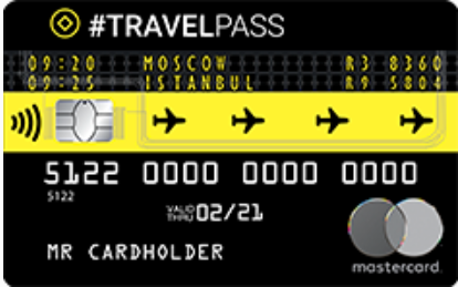 "Карта ""#TRAVELPASS"""
