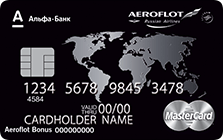 "Карта ""Aeroflot Black Edition"""