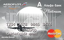 "Карта ""Aeroflot Platinum"""